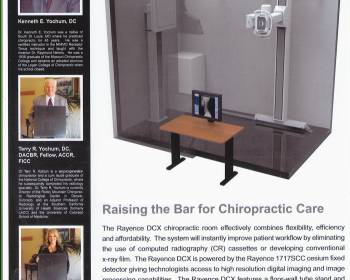 Rayence  Chiropractic DR System coming soon