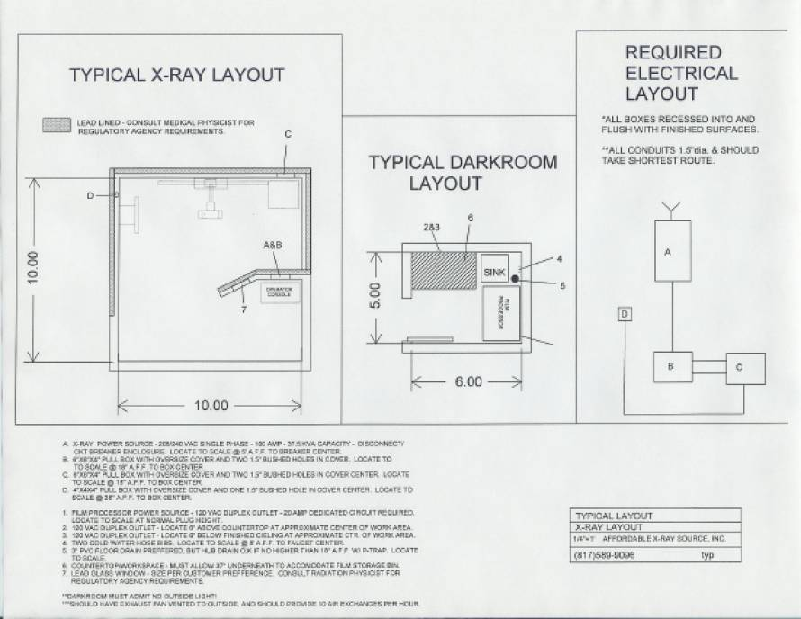 Chiro Room Layout